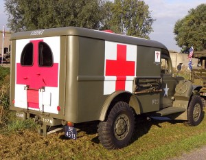WW2-era ambulance