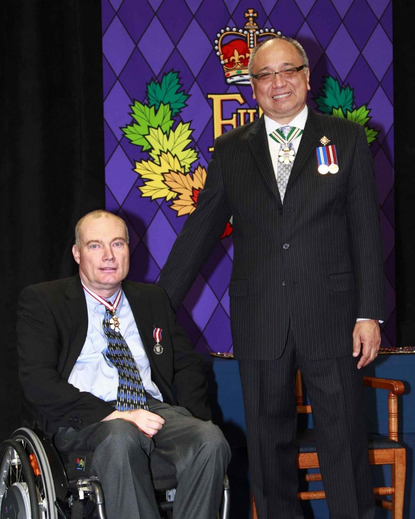 Dr. Birch receives Diamond Jubilee Medal