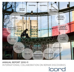 ICORD Annual Report 2010-11 cover image