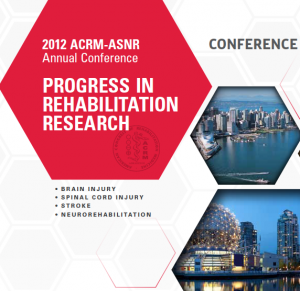 American Congress of Rehab Medicine conference poster