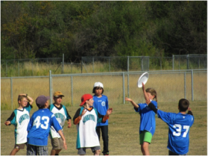 w.l. McLeod Elementary ultimate frisbee tournament 1999