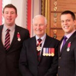 ICORD trainee Matt Crombeen receives Medal of Bravery
