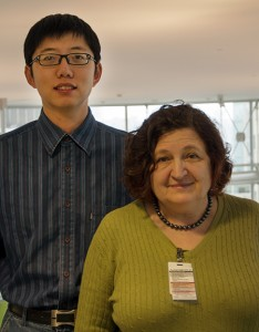 Congratulations to Yuan (L) and Elena (R), winners of the 2014 Spinal Chord Awards for Staff Excellence.