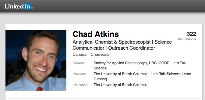 Chad Atkins linkedin