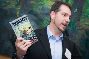"Dr. Zehr discusses his book ""Project Superhero"""