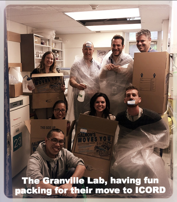 granville lab moving