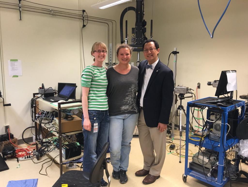 Dr. Ono visits OIBL