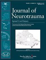 Journal of neurotrauma cover