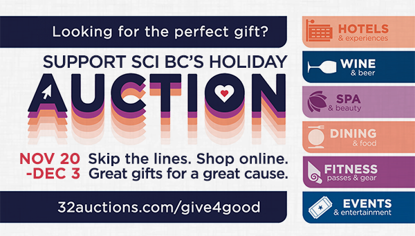 SCI BC auction poster
