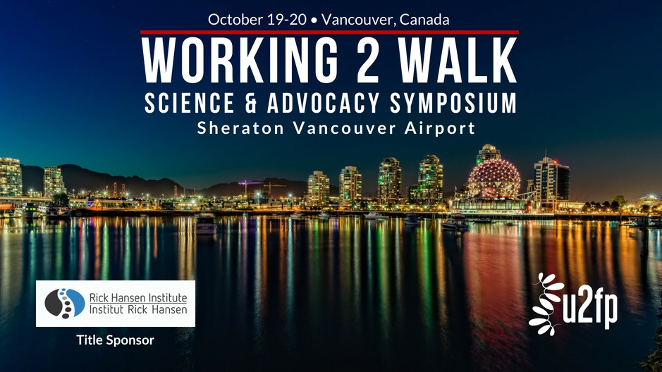 Working 2 Walk: Science and Advocacy Symposium