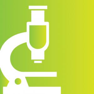 study logo - microscope