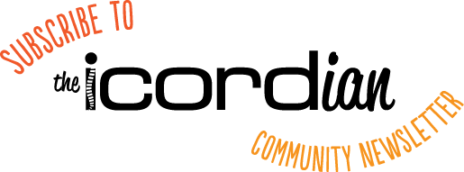 Subscribe to the icordian community newsletter