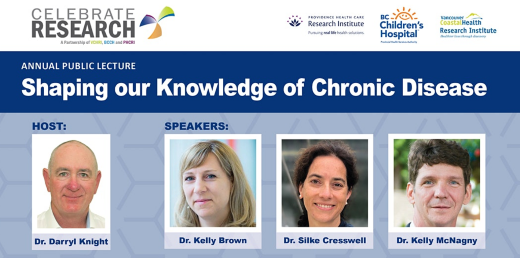 Annual public lecture: shaping our knowledge of chronic disease