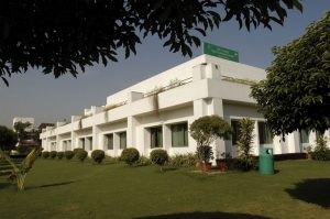 Photo of white 2-floor building in New Delhi