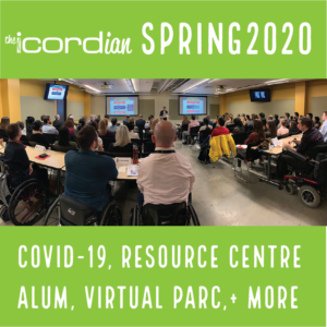 the Icordian Spring 2020 Covid-19, Resource Centre, Alum, Virtual Parc, and More